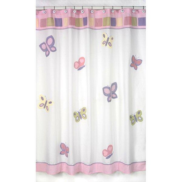 Butterfly Shower Curtain by Sweet Jojo Designs