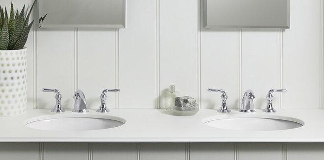 Bathroom Faucet Hole Spacing bathroom faucet buying guide | wayfair