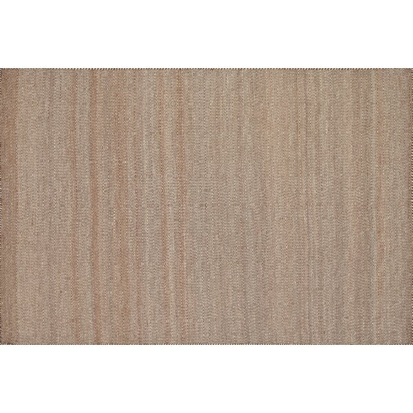 Quays Hand-Woven Rust/Pink Area Rug by Gracie Oaks