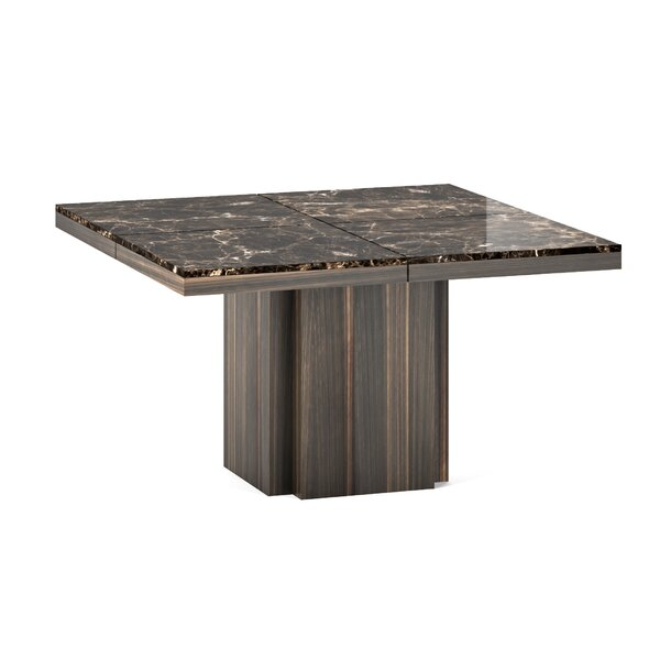Wendell Marble Dining Table by Corrigan Studio