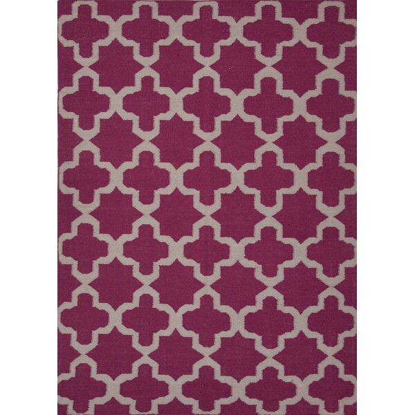 Chatswood Hand-Woven Pink Area Rug by Mercer41
