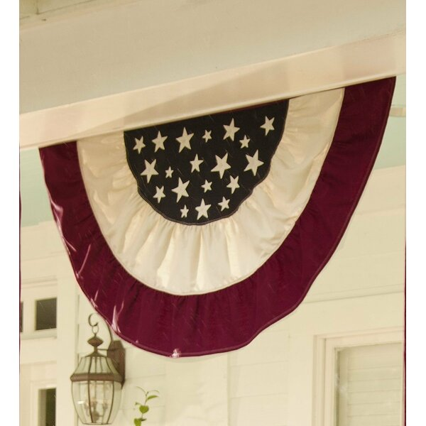 Americana Traditional Pleated Flag by Plow & Heart