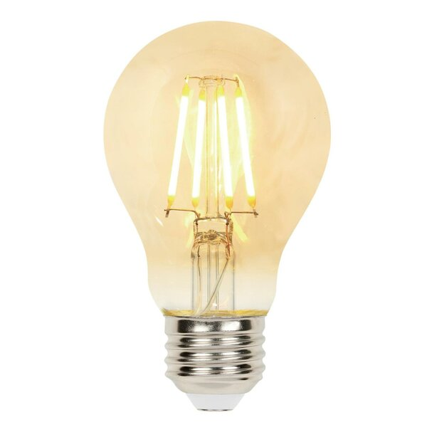 4.5W E26 Dimmable LED Edison Light Bulb Amber by Westinghouse Lighting