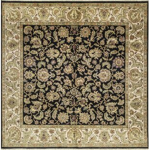 Online Reviews One-of-a-Kind Avalon Handwoven Wool Black/Beige Indoor Area Rug By Bokara Rug Co., Inc.