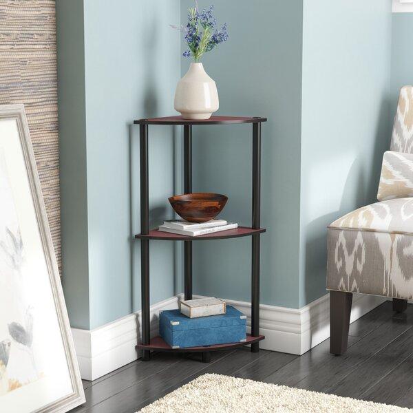 Baril Corner Bookcase By Ebern Designs