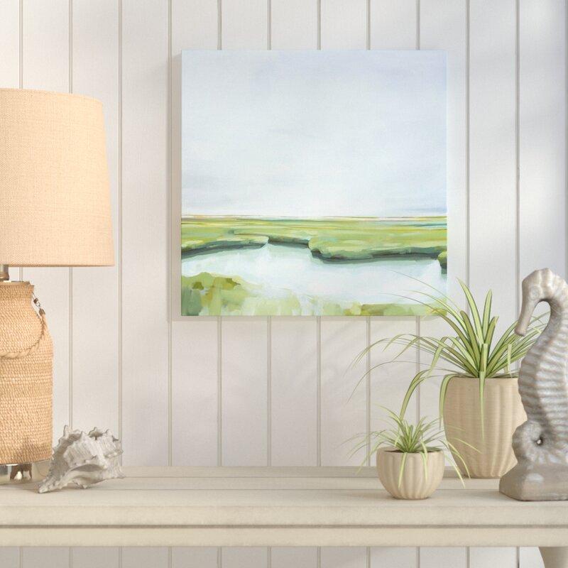'Marshland' Acrylic Painting Print