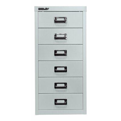 Aktenschrank 29er mit 6 Schubladen | Büro > Büroschränke > Aktenschränke | Bisley