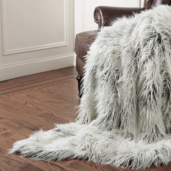 Wild Mannered Tibet Throw Blanket by Wild Mannered