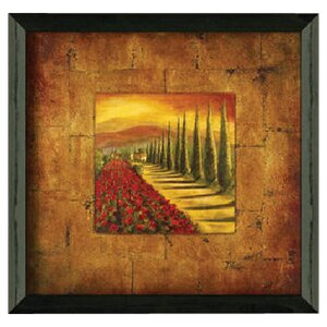 'Red Poppies II' Framed Painting Print by Fleur De Lis Living