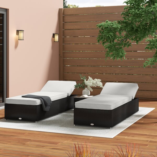 Hazen 3 Piece Lounge Seating Group with Cushions by Zipcode Design
