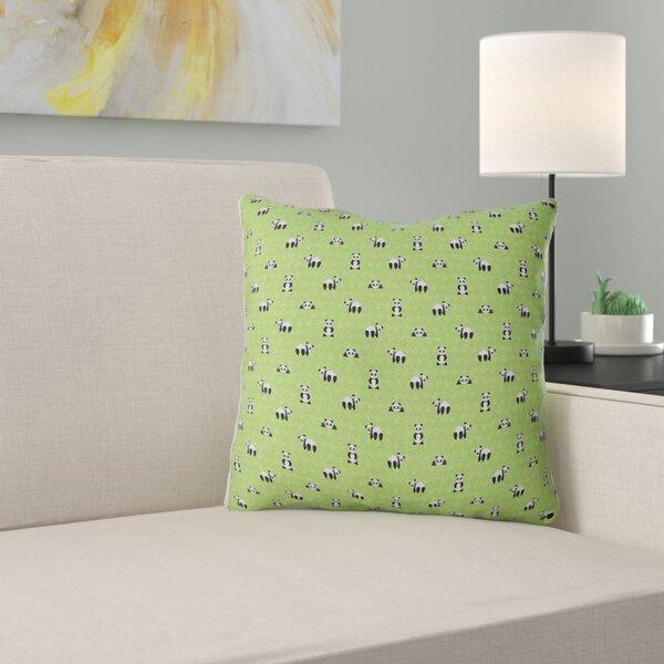 Avicia Panda Indoor/Outdoor Throw Pillow