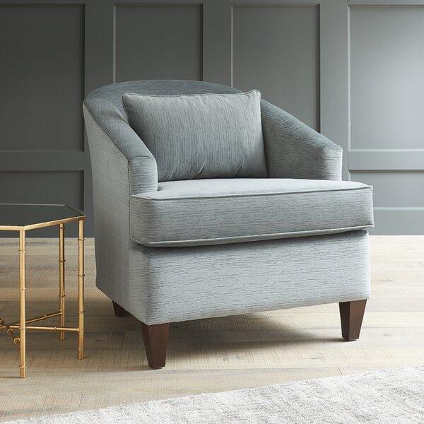 Evelyn Barrel Chair by AllModern Custom Upholstery