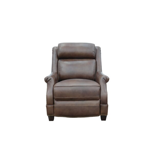 Charlotte Genuine Leather Power Recliner by Canora Grey Canora Grey