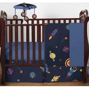 Great choice Space Galaxy 4 Piece Crib Bedding Set BySweet Jojo Designs