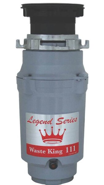 1/3 HP Garbage Disposal by Anaheim Mfg Co