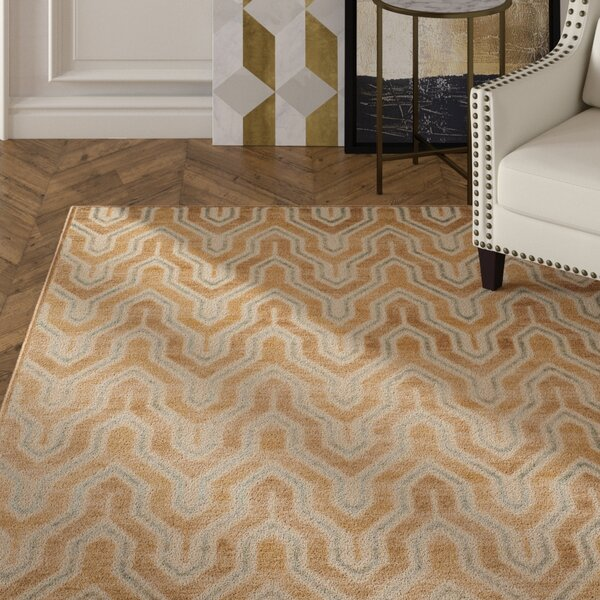 Gabbro Taupe/Beige Area Rug by Mercer41