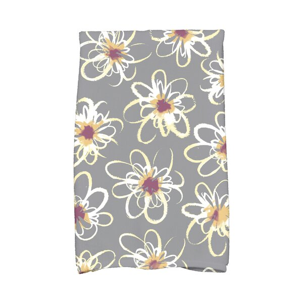 Floral Hand Towel by Latitude Run