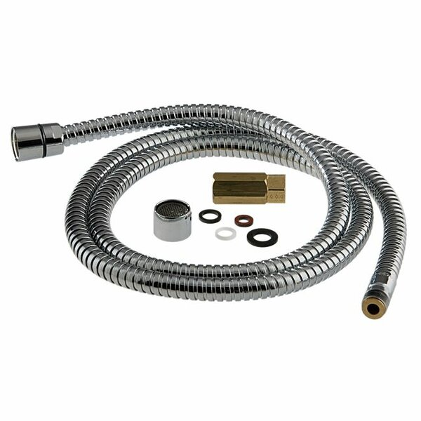 Replacement Hose with Full Flow Aerator by Delta