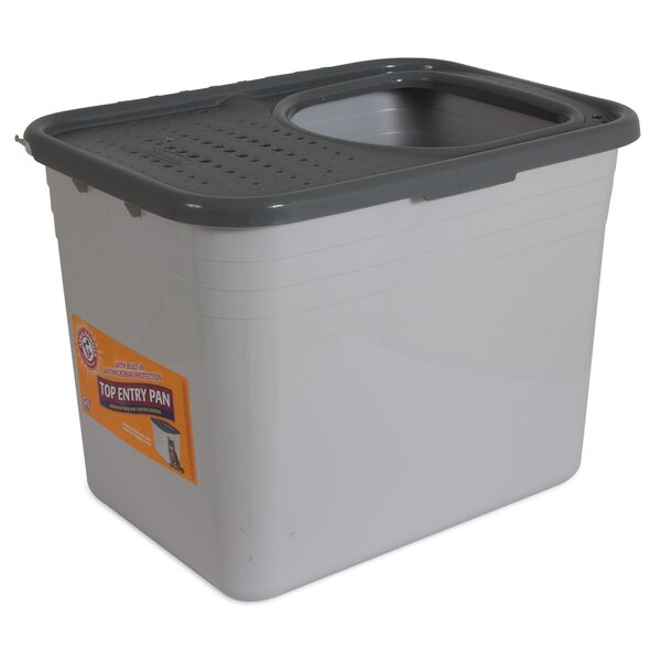 Rectangle Top Entry Standard Litter Box by Arm & Hammer®