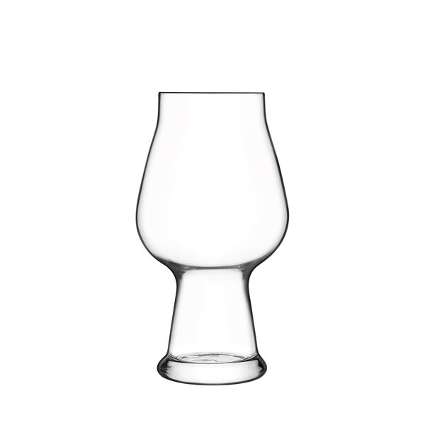 Birrateque 20 oz. Crystal Pint Glass (Set of 2) by Luigi Bormioli