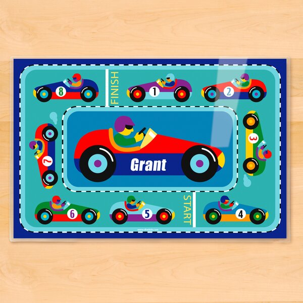 Vroom Personalized Placemat by Olive Kids