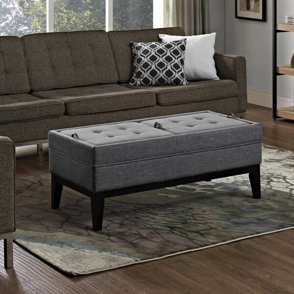 Baughman Tufted Storage Ottoman by Modern Rustic Interiors