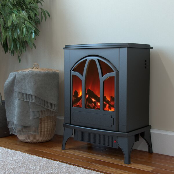 Juno 400 sq. ft. Vent Free Electric Stove by Regal Flame
