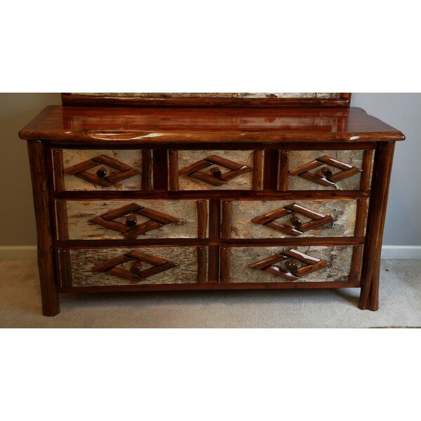 Minehead 7 Drawer Double Dresser by Loon Peak