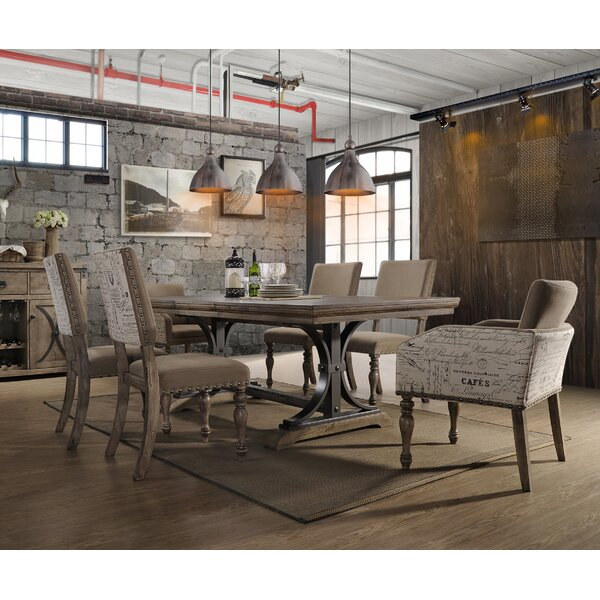 Dasher 7 Piece Extendable Solid Wood Dining Set by One Allium Way One Allium Way