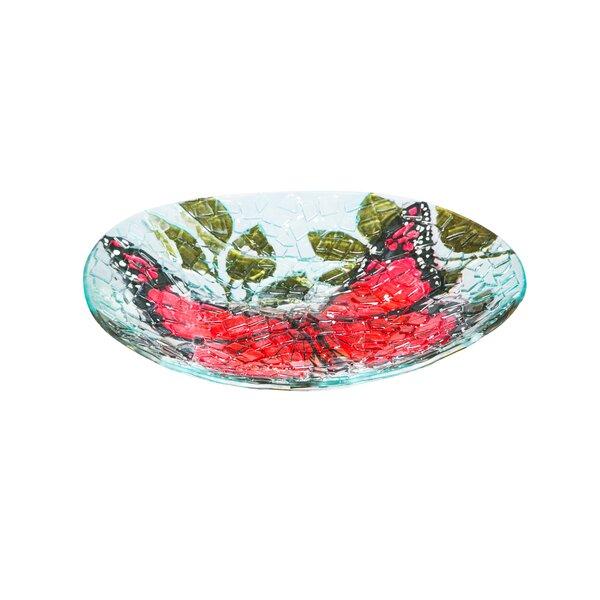 Butterfly Birdbath by Evergreen Flag & Garden