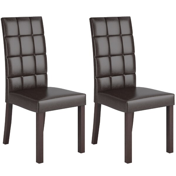 Admer Parsons Upholstered Dining Chair (Set Of 2) By Wrought Studio