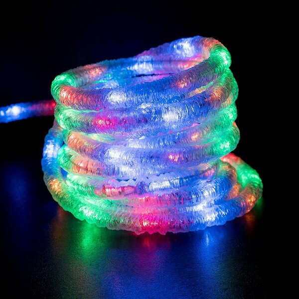 Ribbed Snow Rope Light by The Holiday Aisle