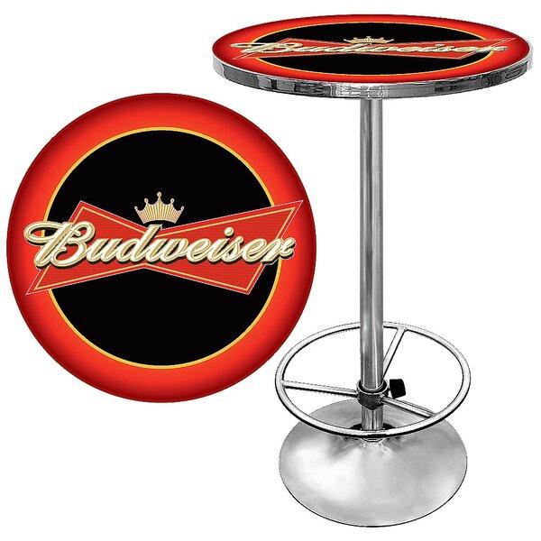 Budweiser Pub Table I by Trademark Global Trademark Global