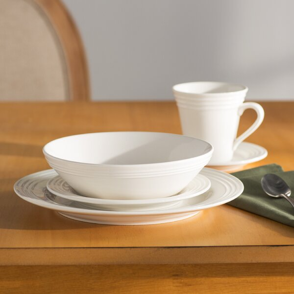 Springdale 20 Piece Dinnerware Set, Service for 4 by Charlton Home