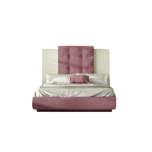 Mathieu King Upholstered Standard Bed by Orren Ellis