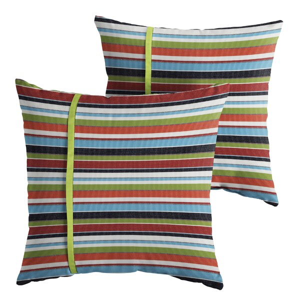 Vanhoy Indoor/Outdoor Throw Pillow (Set of 2) by Red Barrel Studio