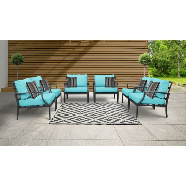 Benner Patio Chair with Cushions (Set of 6) by Ivy Bronx Ivy Bronx