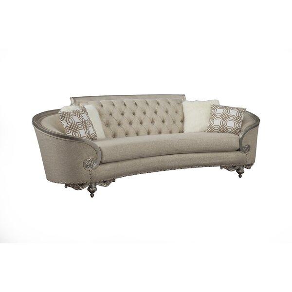 Oak Hill Curved 98-inch Sofa by Astoria Grand Astoria Grand