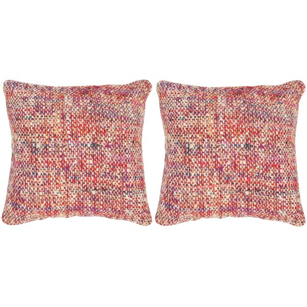 Longoria Silk Throw Pillow (Set of 2) by Brayden Studio
