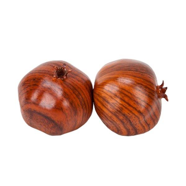 Johana Wood Pomegranates (Set of 6) by Charlton Home