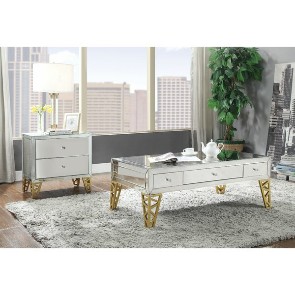 Acklin 2 Piece Coffee Table Set By Mercer41