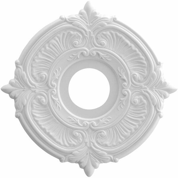 Attica 0.75H x 13W x 13D Ceiling Medallion by Ekena Millwork