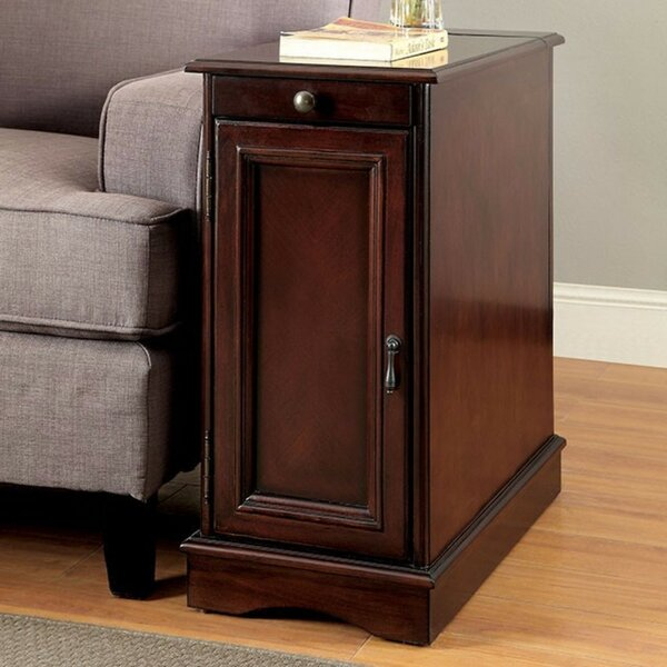 Ellett Sleek End Table with Storage by Darby Home Co