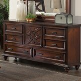 Cayman 6 Drawer Combo Dresser by Wildon Home ®