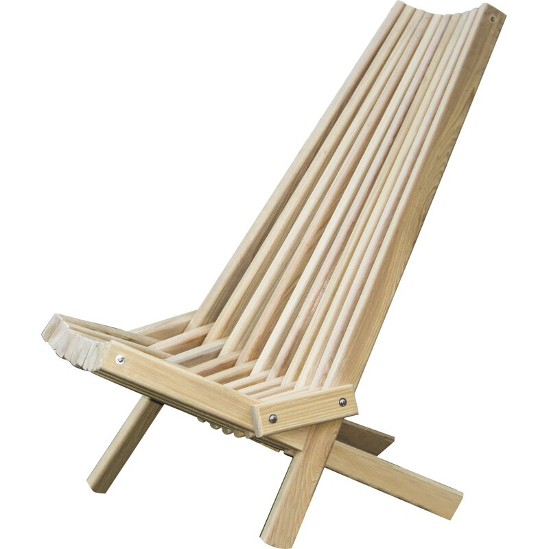 Merveilleux Solid Wood Folding Adirondack Chair