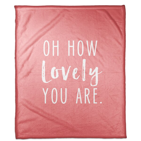Ferebee Oh How Lovely Fleece Throw by Ivy Bronx
