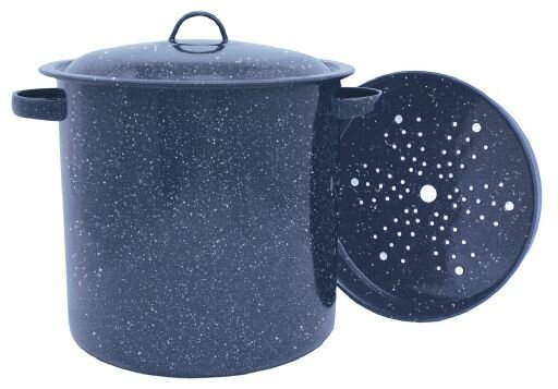 15.5-qt. Stock Pot with Lid by Granite Ware