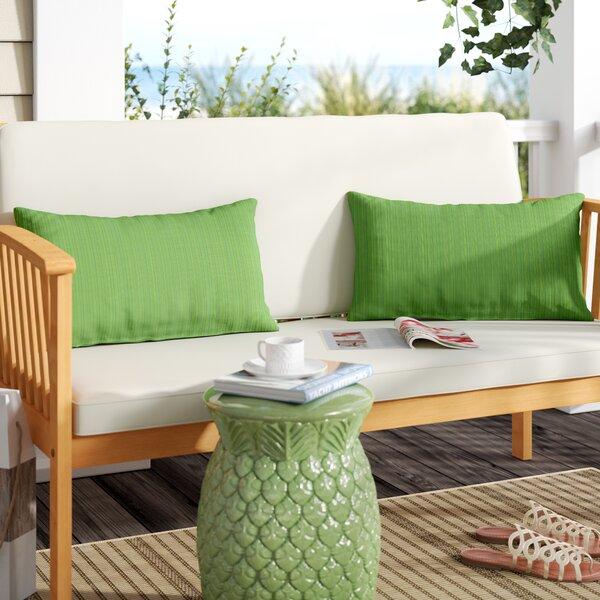 Livadia Indoor/Outdoor Sunbrella Lumbar Pillow (Set of 2)