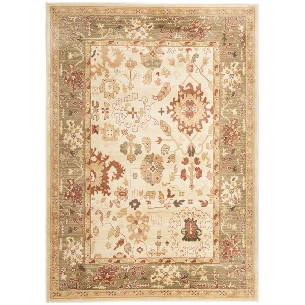 Brice Power Loomed Cream Area Rug by Lauren Ralph Lauren