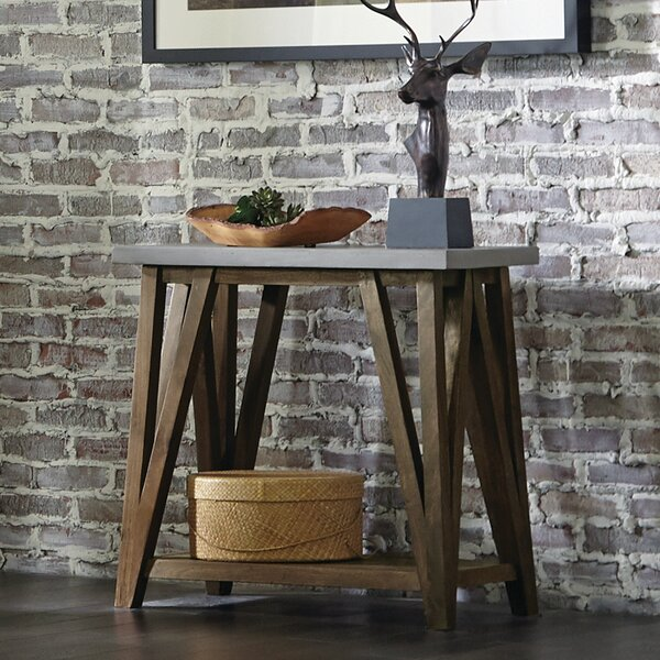 Crum Solid Wood Console Table by Gracie Oaks Gracie Oaks